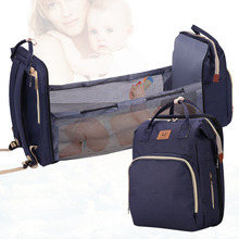 Baby Diaper Bag Bed Backpack For Mom Maternity Bag For Stroller Nappy Bag Large Capacity