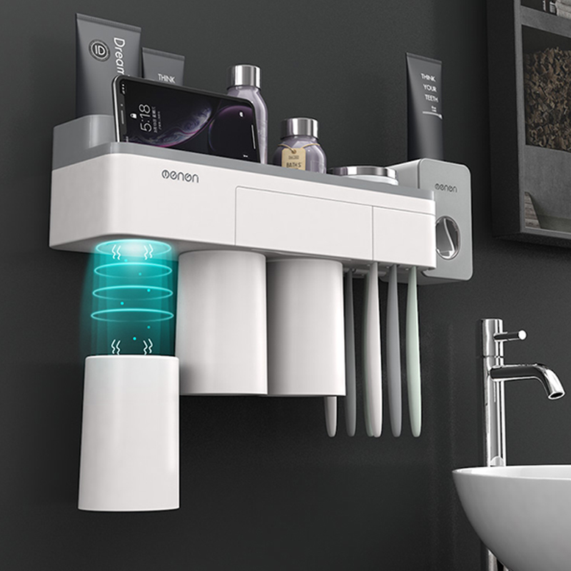 Bathroom Organizer Made With ABS Material And Shelf Magnetic Used For Shampoo And Shower Gel