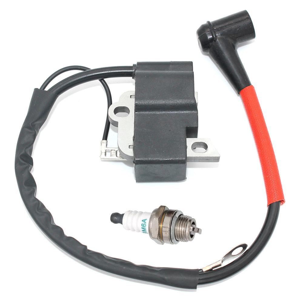 Tools : Ignition Coil with Spark Plug BM6A for Dolmar PS-460 PS-460D PS-500 PS-500D PS-510 PS-4600S PS-4600SH PS-5000 PS-5000D PS-5000H