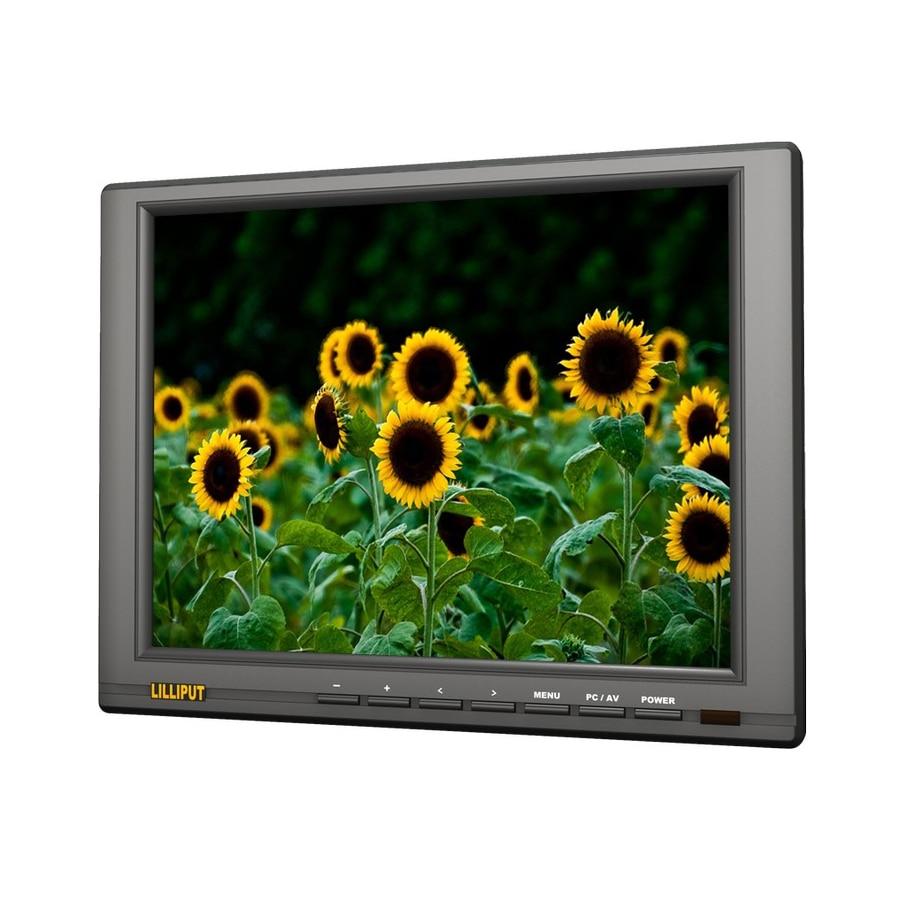 LILLIPUT FA1045 NP/C/T 10,4 дюймов 4 проводной резистивный сенсорный экран монитор TFT светодиодный ПК монитор VGA, HDMI, DVI AV YPbPr Вход S video