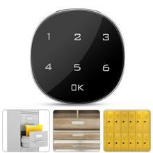 Touch Screen Digitale Elektronische Wachtwoord Coded Lock Voor Kabinet Mailbox Bestand Sauna Ladeblok Safe Lock