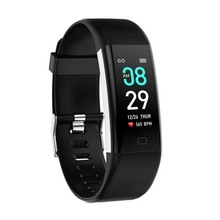 F07Max Waterproof Smart Wristband Heart Rate Blood Oxygen Blood Pressure Monitor Pedometer Fitness Tracker Smart Watch