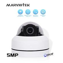 Cámara IP de 5MP para exteriores, impermeable, para seguridad en el hogar, cámara domo IP para exteriores, Zoom óptico de 4X, red PTZ CCTV, Mini cámara HD POE P2P IR