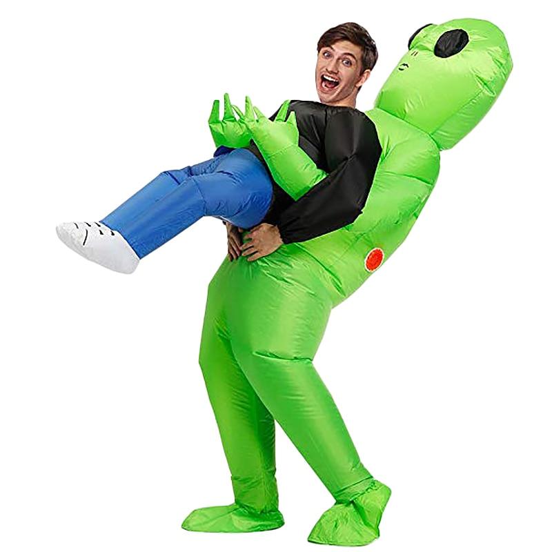 Alien Inflatable Costumes Fancy Costume Halloween Cosplay Fantasy Costume