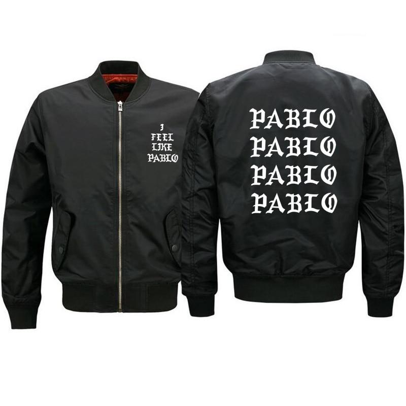 I Feel Like Pablo Jacket Men Fashion Outerwear Ma1 Bomber Jacket Men Women Jaqueta Masculina Kanye West Mens Streetwear Jacket