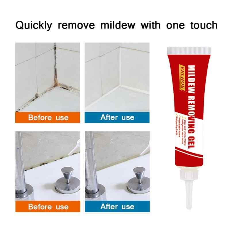 1 garrafa 20g cola de vidro pasta de limpeza cerâmica telha abertura wc além mofo géis parede interior mofo líquido de limpeza