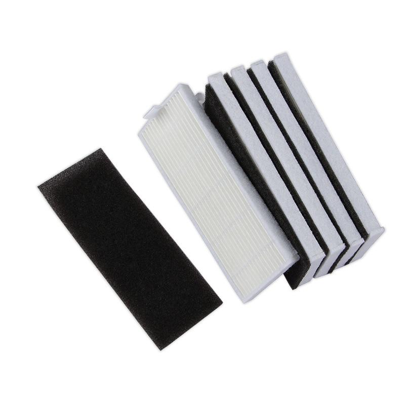 Hepa-фильтр для очистки пыли, 10 комплектов, для пылесоса Ecovacs CEN550 CEN553 CEN555 cen665 DG800 DL33 CEN661 CEN550