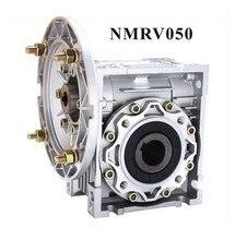 цена на Worm Reducer NMRV050 11mm 14mm 19mm input shaft 7.5:1 - 100 :1 Gear Ratio Nema 34 Worm Gearbox 90 Degree Speed Reducer