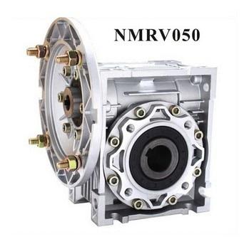 Worm Reducer NMRV050 11mm 14mm 19mm input shaft 7.5:1 - 100 :1 Gear Ratio Nema 34 Worm Gearbox 90 Degree Speed Reducer