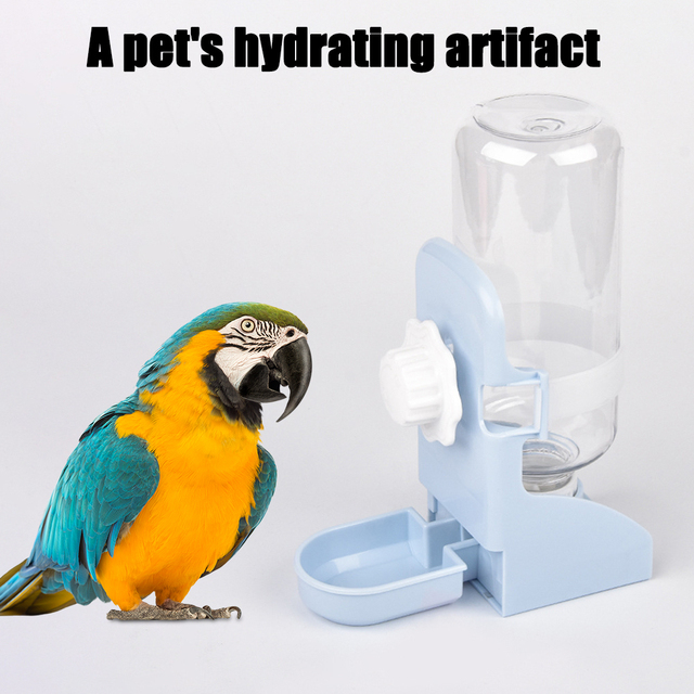 500ML Pet Feeding Dispenser For Rabbits- Dogs- Cats- Hamsters- Parrots 5
