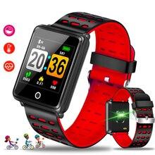 купить LIGE New Smart Watch Men Women Heart Rate Monitor Blood Pressure Fitness Tracker Smartwatch Sport Wristwatch for ios android+BOX по цене 1253.3 рублей