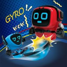 Multiple Gameplay Gyroscope Magic Stunt Gyro Pull Ruler Launcher Rotate Inertia Robot Spinning Top Battle Toys For Children Boys