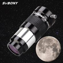 """SVBONY 1.25 """"telescopio oculare barlow Lens 3x telescopio astronomico professionale acromatico avanzato in metallo completamente multistrato"""