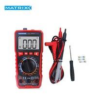 Multímetro digital handheld MDM 201 202 203 204 tensão atual resistência frequência multifunction tester matrix tester|Multímetros| |  -