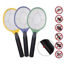 Fly Swatter Bug Zapper Mosquito Electric Kills Home Mesh Bug-Use Safety Cordless