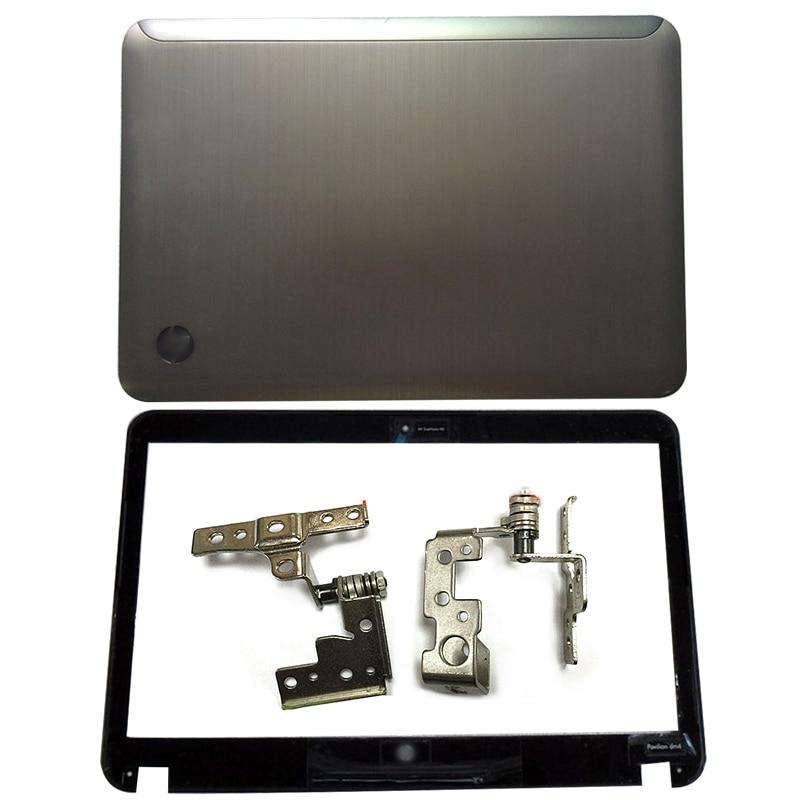 NEW For HP Pavilion DM4-1000 DM4-2000 Laptop LCD Back Cover/Front Bezel/Hinges 636936-001 608208-001 650674-001 608208-001