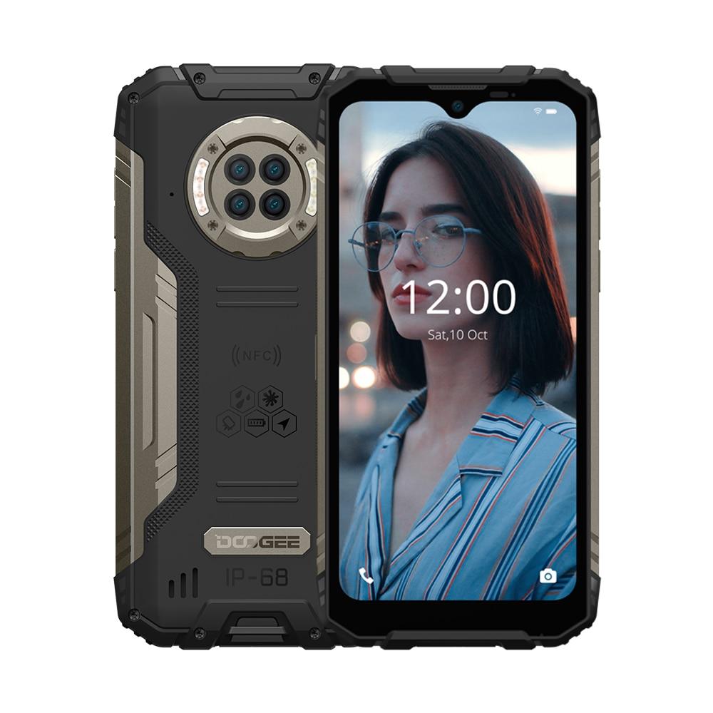 Водонепроницаемый прочный телефон DOOGEE S96 Pro, 8 ГБ + 128 ГБ, 6350 мАч, 48 МП, круглая четырехъядерная камера 20 МП, инфракрасное ночное видение, Восьми...