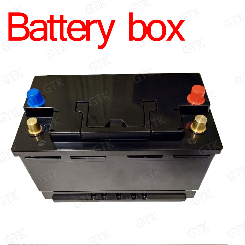 High quality ABS battery box battery case for 12v 80Ah 60Ah 30Ah 100Ah 120Ah 24V 50AH 48V lifepo4 li ion LTO lead acid battery