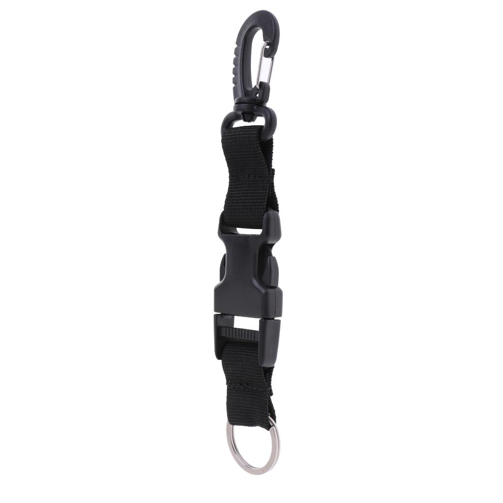 Performance Nylon Scuba Diving Lanyard Camera Holder Strap With Swivel Clip