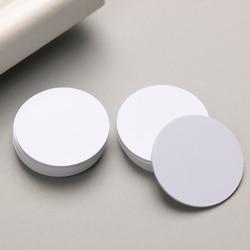 New 5 PCs/Lot Ntag 215 NFC Tag Mini Round Key Tags Keychain Sample Patrol Universal RFID Tag NFC Phone Chip Electronic Card