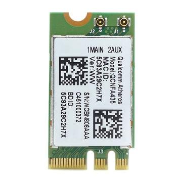 Tarjeta adaptadora inalámbrica para Qualcomm Atheros QCA9377 QCNFA435 802.11AC 2,4G/5G NGFF WIFI tarjeta Bluetooth 4,1