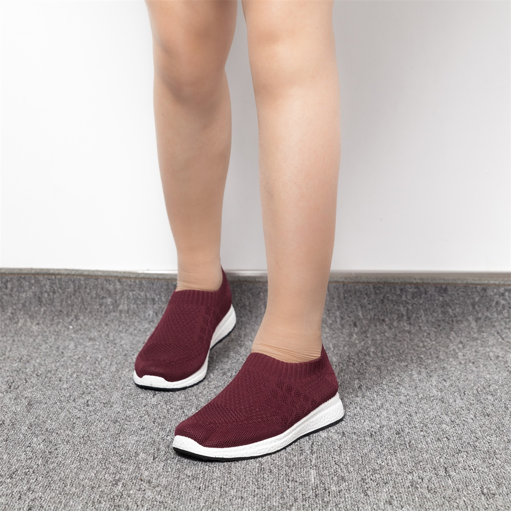 2020 New Fashion Sneakers Women Shoes Breathable Mesh Slip-on Flat Shoes Women Plus Size Loafers Shoes zapatillas mujer