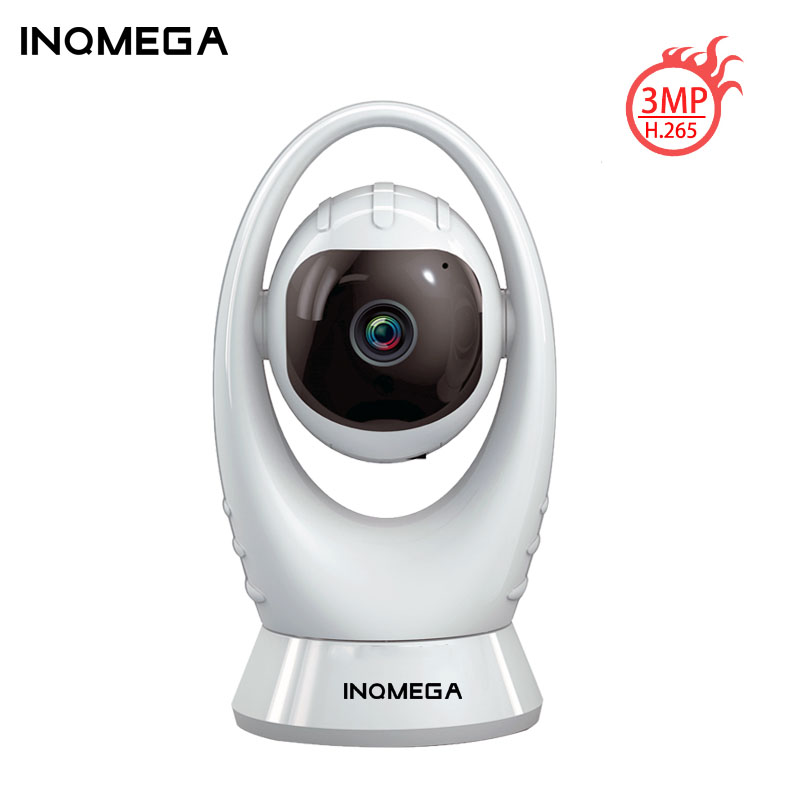 INQMEGA 3MP HD WIFI Camera Mart Home Security H.265 Onvif IP Camera Indoor Baby Monitor CCTV Video Surveillance Home Security IR