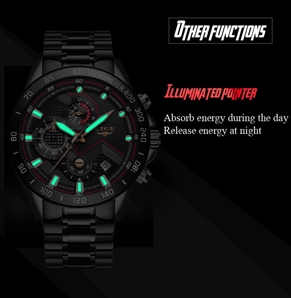 Hf67f425c131347e2a263e8b307f81a097 Relogio Masculino LIGE Chronograph Mens Watches Stainless Steel Waterproof Date Quartz Watch Men Business Classic Male Clock+box