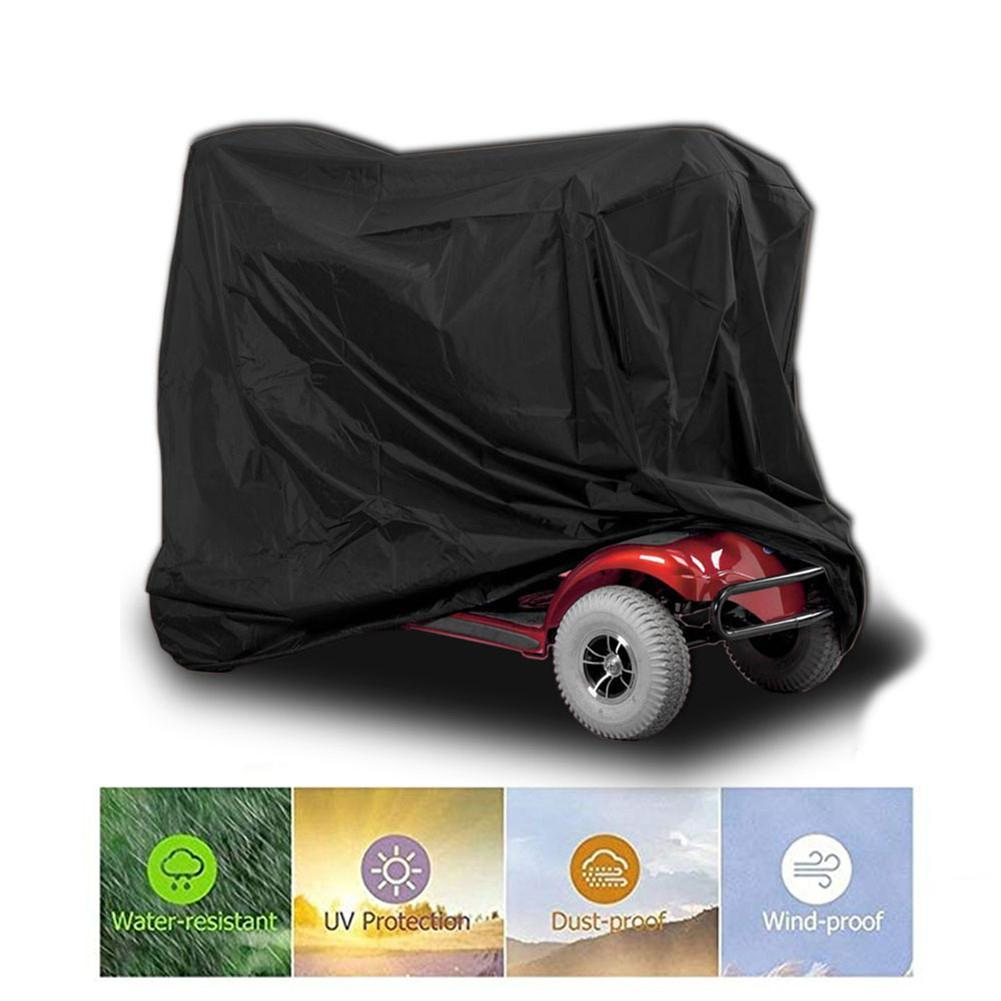 170x61x117cm Mobility Scooter Cover Protective Storage Home Waterproof Anti Wear Oxford Cloth Wheelchair Scooter Accessories