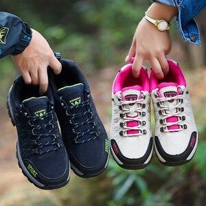 Image 5 - Mùa Thu/Mùa Đông Cho Nam Plus Size 36 47 Thoáng Khí Thời Trang Nam Giày Ngoài Trời Giày Thương Hiệu đế Giày Cặp