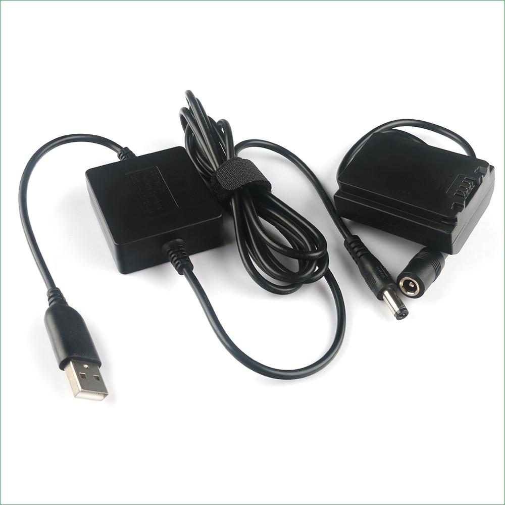 de Potência Cabo USB para Sony ILCE-a6600