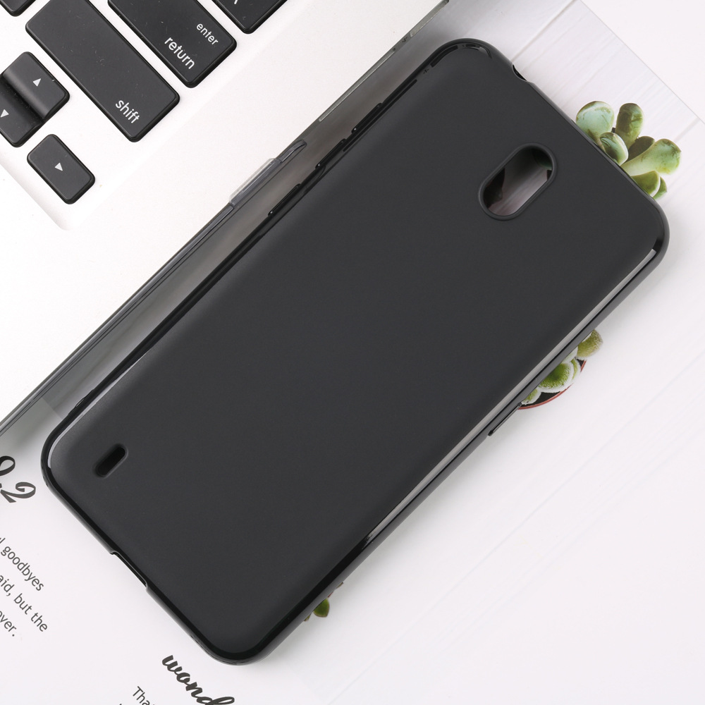 Rubber Black Phone Case For Nokia C1 Case Silicone Soft TPU Protection Back Cover For Nokia C Cases Fundas Bumper