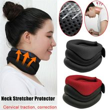 Elastic Collar Cervical Traction Breathable Belt Neck Care P