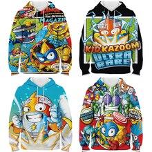 Sweatshirt Harajuku Pullovers Hoodie Boys Streetwear-Spring Printed 3D Superzings Girls