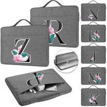 """Travel Bag for Apple Pro 13/Air 13/Pro 15/Air 11/White 13/Old White 13/12"""" Letter Pattern Business Laptop Waterproof Sleeve Case"""