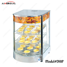 DH1P Commercial Food Warmer Display Showcase Stainless Steel Egg Tart Bread pizza Chips Warmer Showcase Machine цена и фото