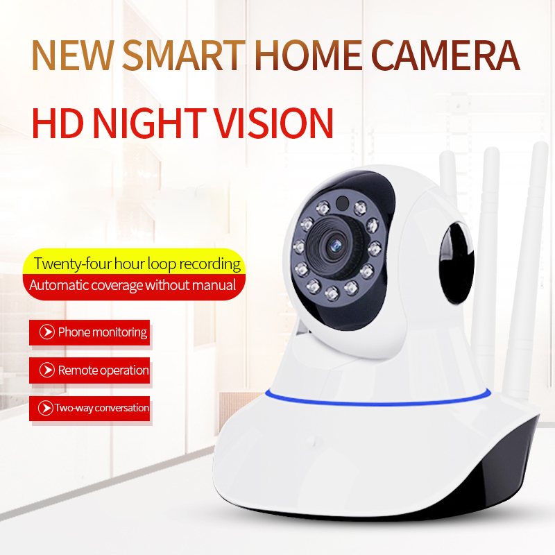 Y6 Home IP Camera Rotatable PTZ Security Surveillance Wifi RJ45 Camera IR Night Vision Wireless Cam Voice Call Motion Detection