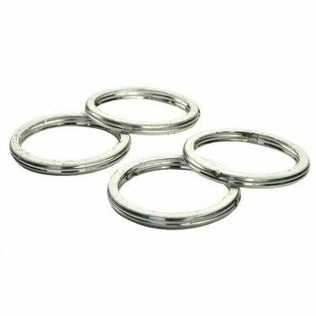 4pc Motorcycle Exhaust Pipe Header Gasket for CBR600 Hurricane 600 NT650 Hawk ST1100 VT600 Shadow CBR600F CB1000R ST1300PA image