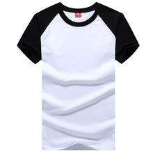 2021 Men Short Sleeve Cotton t-shirt Summer Casual Fashion Gyms Fitness Bodybuilding T shirt Male Slim Tees Tops