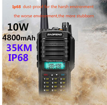 2021 Baofeng UV 9R plus aggiornamento uv9r 40 km 50km walkie talkie 10W hf ricetrasmettitore vhf uhf ham radio stazione radio CB a lungo raggio