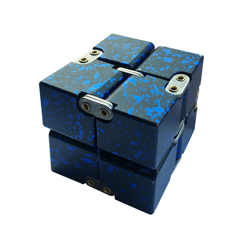 Toys Magic-Cube Stress-Relief EDC Finger Anxiety Metal Blocks Best-Gifts Funny Kids Children img2
