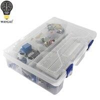 Starter Kit für Arduino Uno R3 - MEGA328P und Breadboard halter Schritt Motor / SG90 Servo /1602 LCD/jumper draht/RFID Modul/Relais