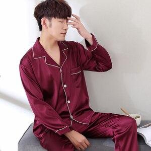 Пижамный костюм AIPEACE, атласные шелковые пижамные комплекты, одежда для сна для пар, семейная Пижама, Ночной костюм для влюбленных, мужская и ...