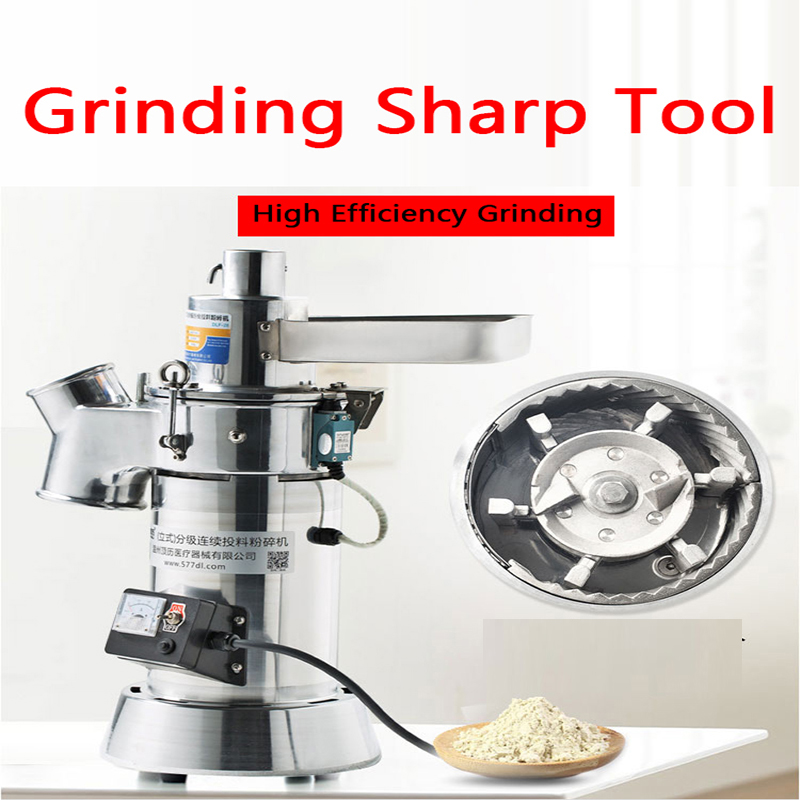 Continuous Pulverization Dry Pulverizer Chinese Herbal Medicine Superfine Powder Machine Commercial Flow Type Grinding Grading