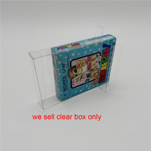 10 sztuk dla GB plastikowe pudełko do gry futerał ochronny dla Nintend GameBoy Japan JP version