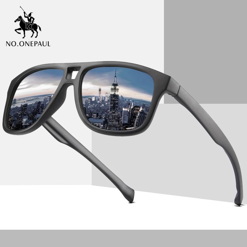 NO.ONEPAUL Classic Polarized Sunglasses Men Women Driving Square Style Sun Glasses Brand Design Luxury UV400 Sunglasses For Men