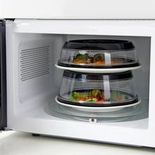 Герметичная вакуумная пищевая упаковочная машина Mintiml крышка кухонная мгновенная вакуумная пищевая упаковочная крышка черная для чаш, тарелок