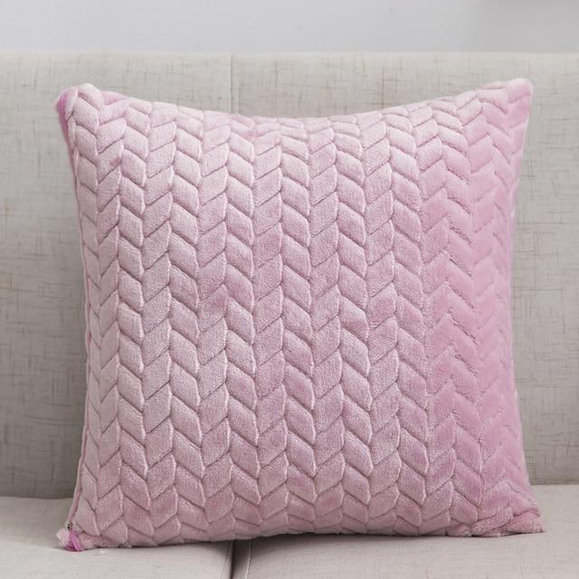 Soft Plush Cushion Cover 2