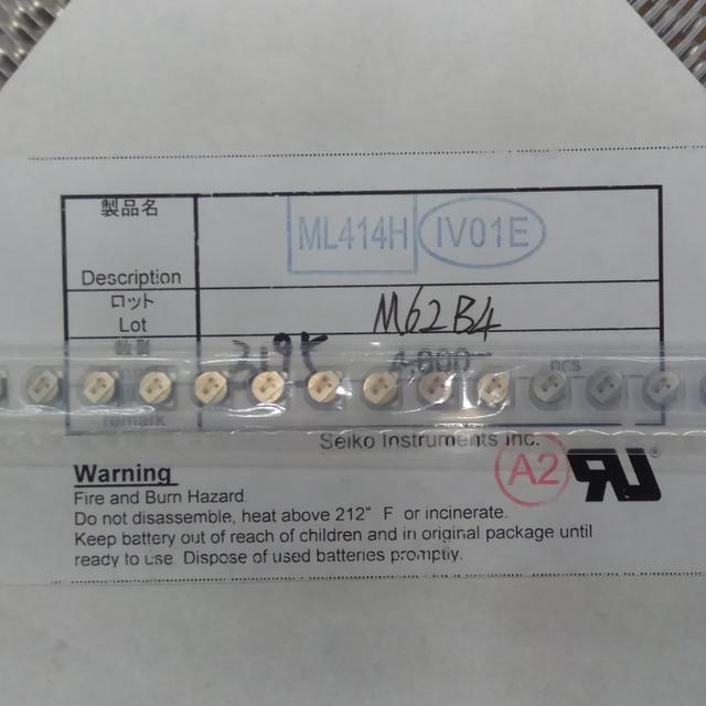 10 50 pieza ML414H IV01E SMD ML414H batería דה botón חדש לגמרי מקורי