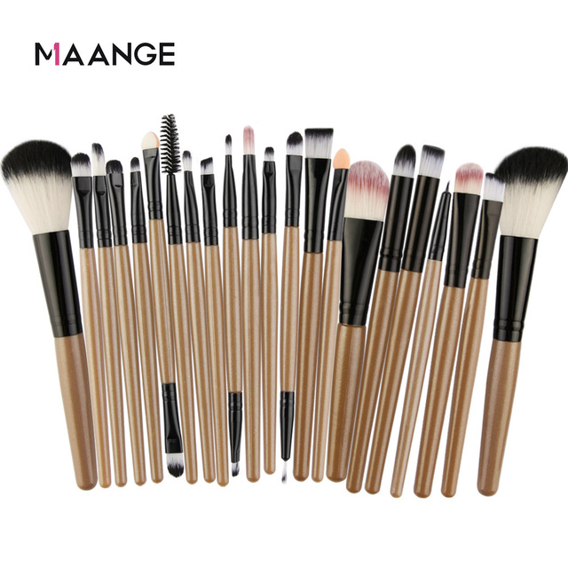 Maange 22PCS Eye Makeup Brush Set Beauty Tools Cross Border Foundation Powder Eyeshadow Cosmetics Beauty Tools Maquiagem|Eye Shadow Applicator|   -